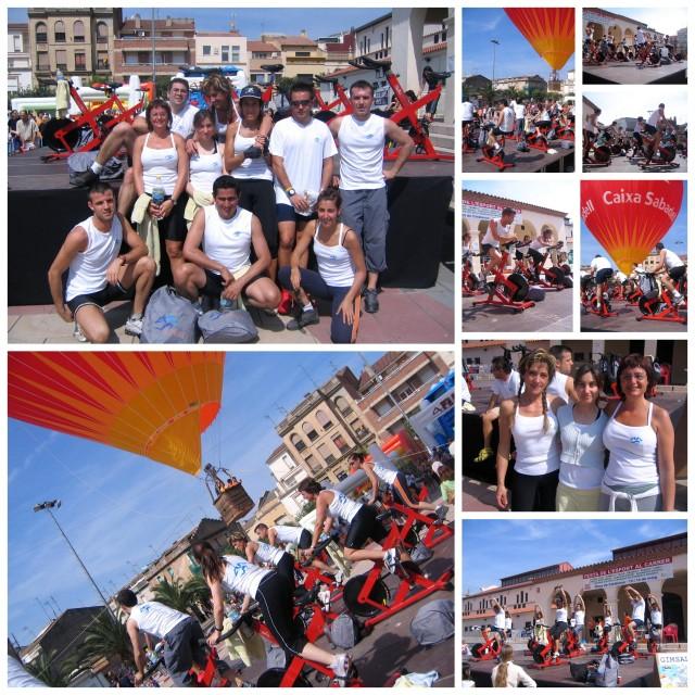 2006 Festa del Esport al carrer SPINNING1 Collage
