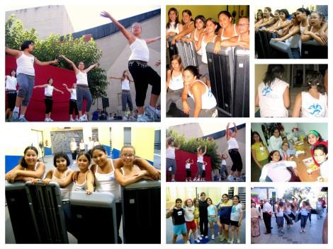 2006 Exhibición de aeróbicos en la Fiesta Vecinal de La Rambla-Eixample