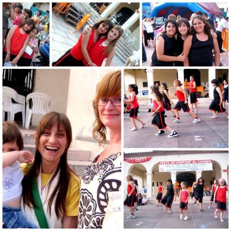 2007 aerobicos infantil Fiesta del deporte COLLAGE