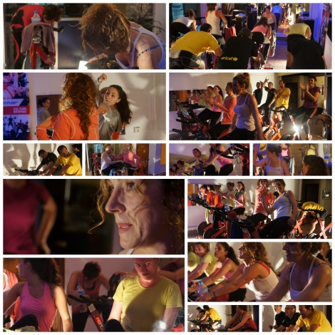 2014 SPINNING FEB Manoli con amigos COLLAGE