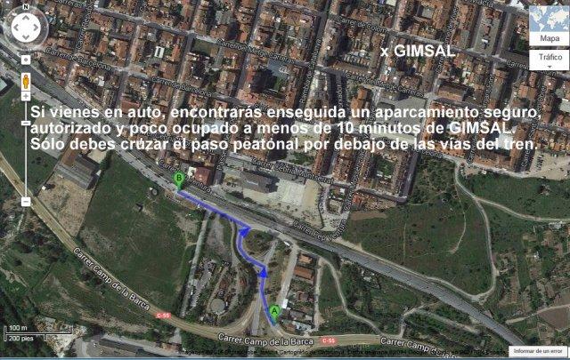 Mapa Aparcamiento GIMSAL 2