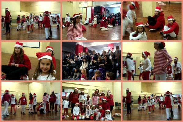 2012 Aerobicos Infantil exhibicion de navidad con la familia