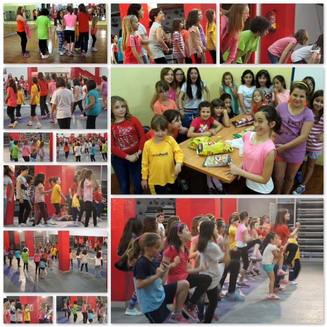 2014 COLLAGE Aerobics Infantil PUERTAS ABIERTAS MAYO